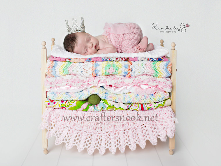 Princess and the pea newborn twins photography prop posing bunk beds foam mattresses diy stackable